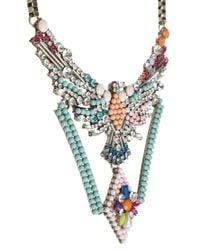 Ashiana - Multicolor Statement Necklace - Lyst