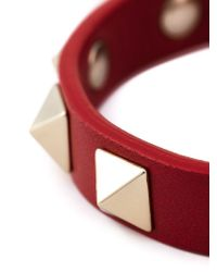 Valentino - Red Garavani 'rockstud' Bracelet - Lyst