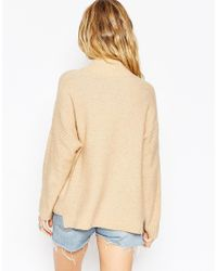 ASOS | Blue Jumper In Mohair | Lyst