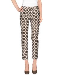 Incotex - Natural Casual Trouser - Lyst