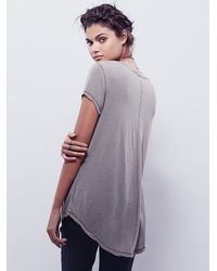 Free People - Gray We The Free Phoenix Tee - Lyst
