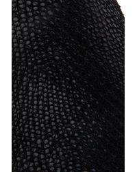 Vans - Classic Black Pebble Snake Slip-on Sneakers - Lyst