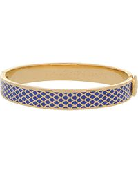 Halcyon Days - Blue Salamander Bangle - Lyst