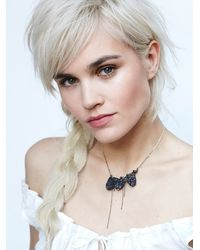 Free People - Metallic My Shadow Crystal Collar - Lyst