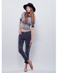 Free People | Black Wilson Relaxed Cord | Lyst