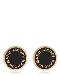 Marc By Marc Jacobs | Metallic Disc-O New Classic Enameled Earrings | Lyst