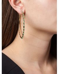 Aurelie Bidermann | Metallic 'wapiti' Hoop Earrings | Lyst