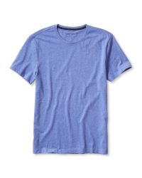 Banana Republic | Blue Soft-wash Crew for Men | Lyst