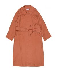Apiece Apart | Brown Peralta Trench Coat | Lyst
