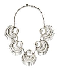 DANNIJO - Metallic Kassidy Necklace - Lyst