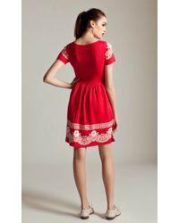 Alice By Temperley | Red Wisp Dress | Lyst