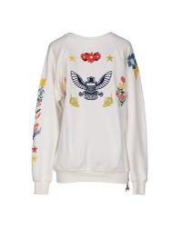 Saucony - White Sweatshirt - Lyst