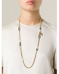 Marc By Marc Jacobs - Metallic 'Bubble Chain Medley' Necklace - Lyst