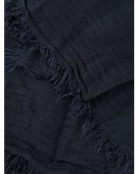 Faliero Sarti - Blue Biat Solid Scarf - Lyst