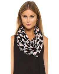 kate spade new york - Pink Steal The Spotlight Oblong Scarf - Neutral - Lyst