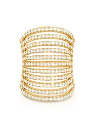 Carbon & Hyde | Yellow Spine Ring | Lyst