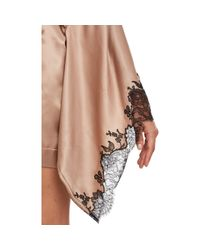 Carine Gilson - Natural Silk Robe - Lyst