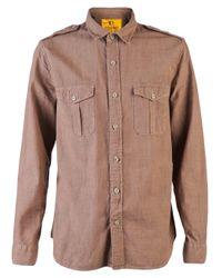 Dockers - Red K1 Military Shirt for Men - Lyst