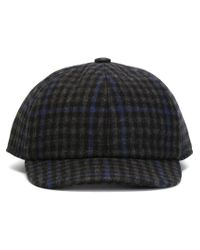 Kiton - Blue Tweed Baseball Cap - Lyst