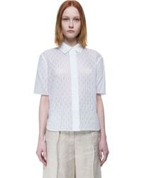 Carven - White Shirt - Lyst