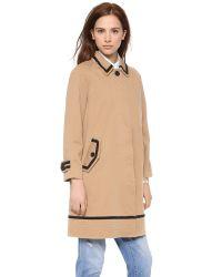 Marc By Marc Jacobs - Natural Zeta Twill Coat - Lyst