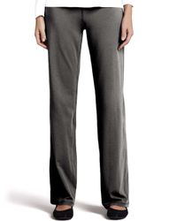 Eileen Fisher - Gray Organic Jog Suit Pants - Lyst