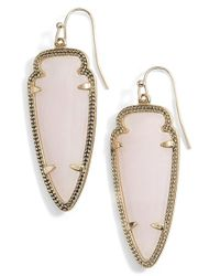 Kendra Scott - Metallic 'sky Spear' Small Statement Earrings - Lyst