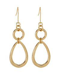 Hobbs | Metallic Lucy Earrings | Lyst