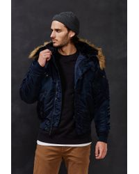 Alpha Industries | Blue N-2b Jacket for Men | Lyst