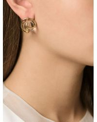 Lara Bohinc | Metallic Planetaria Stud Earrings | Lyst