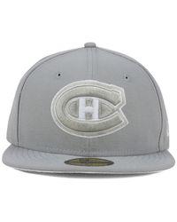KTZ | Gray Montreal Canadiens C-Dub 59Fifty Cap for Men | Lyst