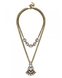 BaubleBar | Metallic Nirvana Necklace | Lyst