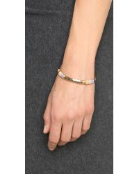 Gas Bijoux - Metallic Massai Classique Bracelet - Ocre Multi - Lyst