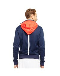 Ralph Lauren - Blue Jersey Track Jacket for Men - Lyst