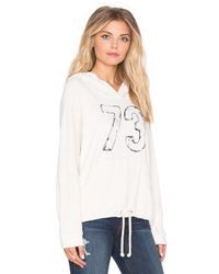 Sundry - Natural 73 Drawcord Hoodie - Lyst
