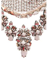 Shourouk - Pink River Necklace - Lyst