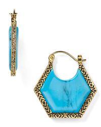 House of Harlow 1960 | Blue 1960 Hexes Earrings | Lyst