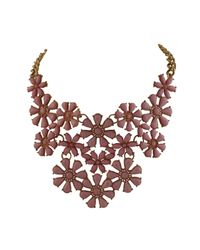 Ziba | Brown Freja Statement Necklace | Lyst