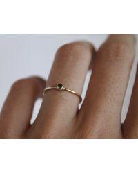 Lumo   Green 14k Emerald Ring   Lyst
