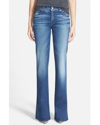 7 For All Mankind | Blue A-pocket Flare Jeans | Lyst