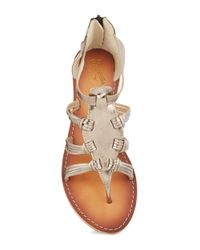 Seychelles   Metallic Ready For Action Sandals   Lyst