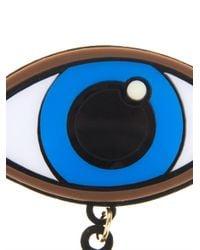 Yazbukey - Blue Eye and Stars Brooch - Lyst