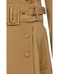 Bouchra Jarrar - Brown Saharien Canvas Trench Coat - Lyst