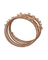 Mattia Cielo - Metallic Rugiada Five-circle Wrap Diamond Bracelet - Lyst