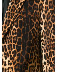Moschino - Multicolor Leopard Print Blazer for Men - Lyst