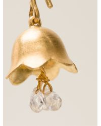 Marie-hélène De Taillac | Metallic 'Lily Of The Valley' Earrings | Lyst