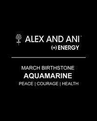 ALEX AND ANI - Yellow March Aquamarine Birthstone Bangle - Lyst