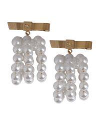 DSquared² - White Earrings - Lyst