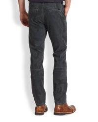 Joe's Jeans - Black Digitalprint Camo Chinos for Men - Lyst