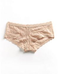 Hanky Panky | Natural Signature Lace Boyshort | Lyst